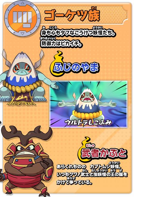 妖怪の種族ゲーム紹介妖怪ウォッチ